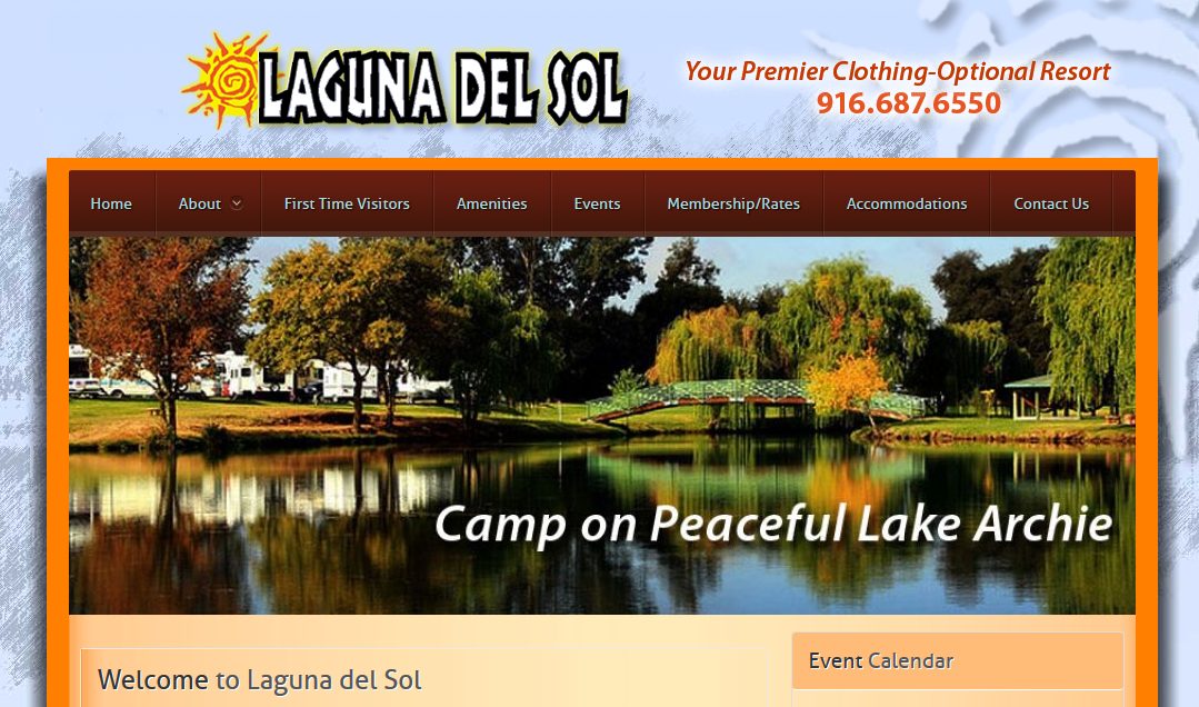 Laguna del Sol Clothing Optional Resort