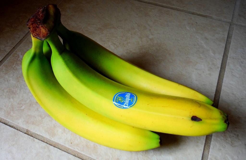 Not-Yet-Ripe Bananas