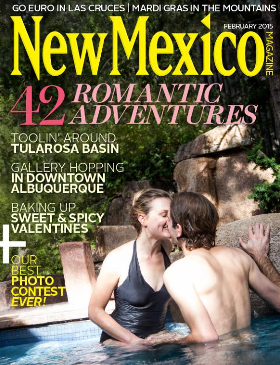 New Mexico Magazine Cover, February 2015