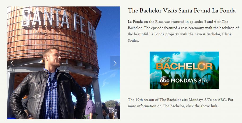 The Bachelor Comes to Santa Fe