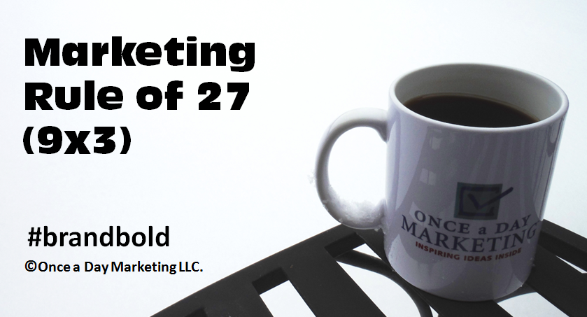 Marketing Rule of 27: The Math of Marketing