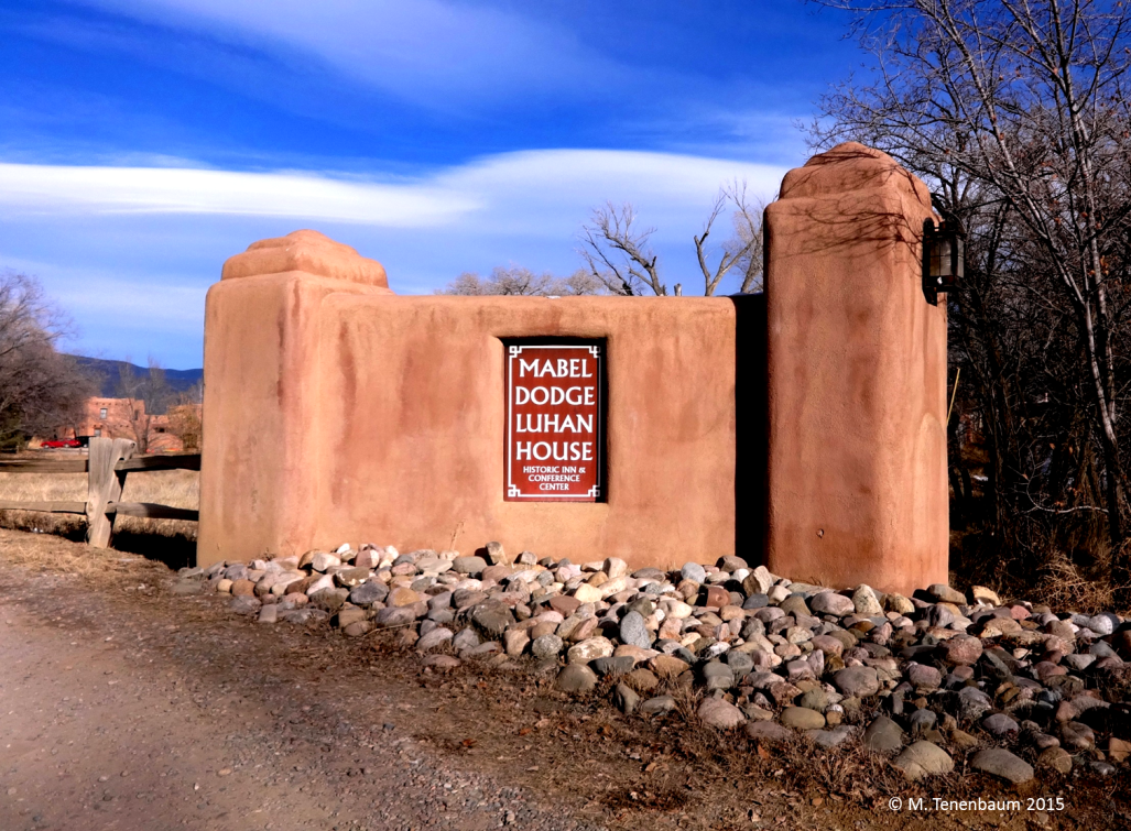 Gateway to Historic Inn Mabel Dodge Luhan House