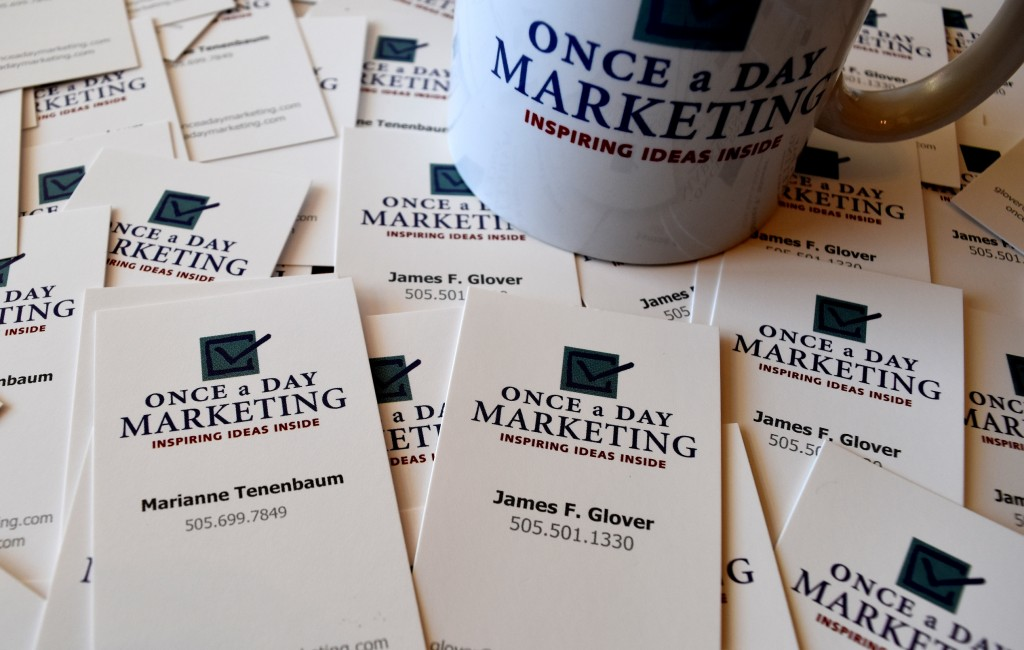 Once a Day Marketing Inspires Clients to Brand Bold