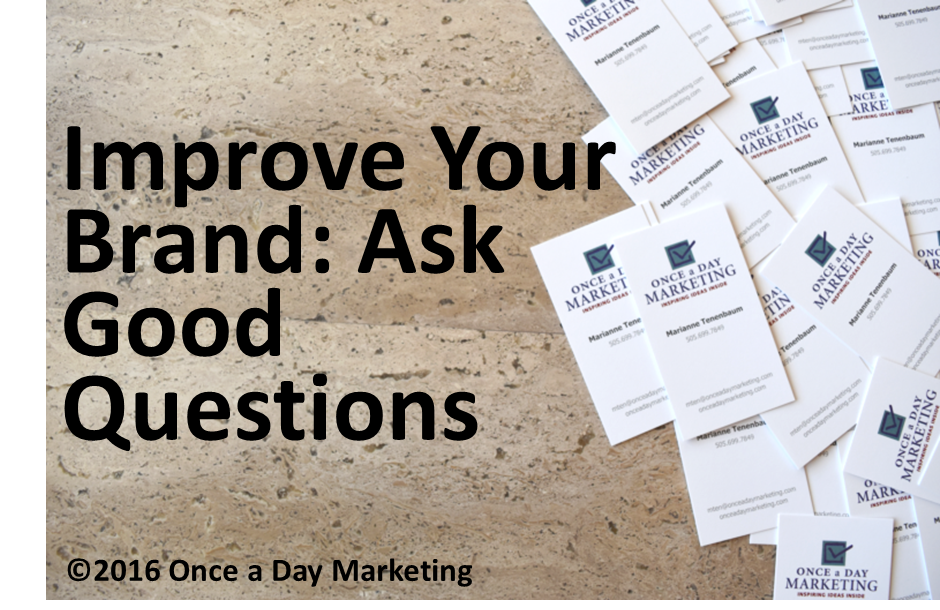 Ask Good Questions and Seek Good Answers