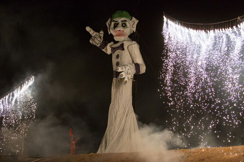 Zozobra before the burn