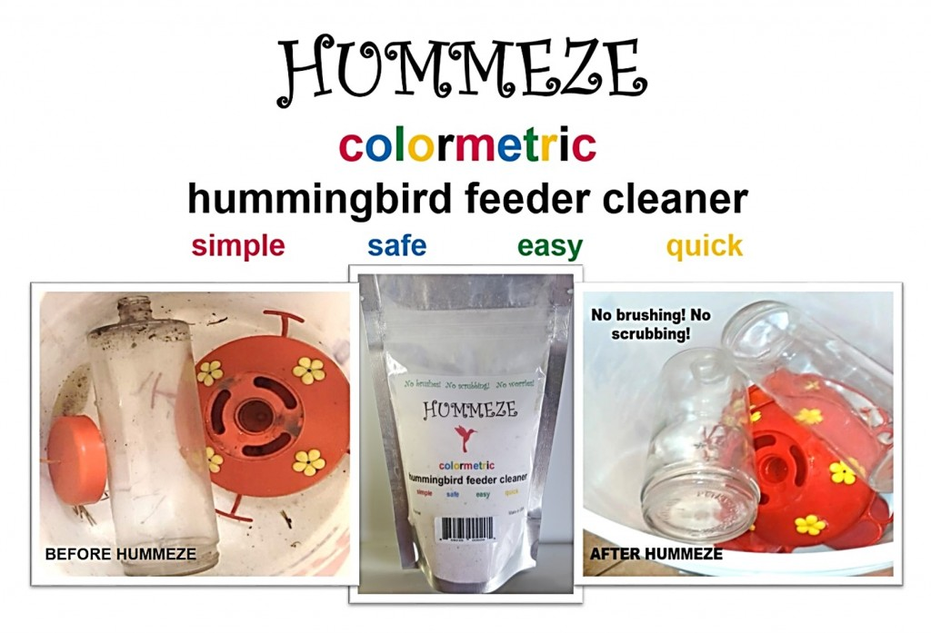 A great new solution for Hummingbird lovers!