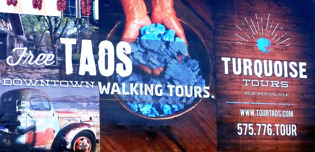 Tour company uses local billboards in Taos