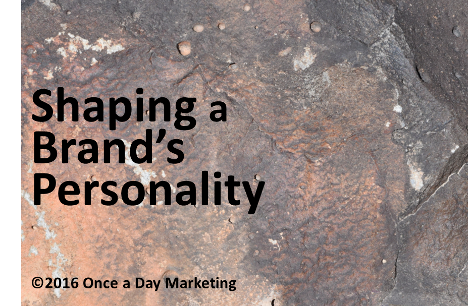 What is the personality of your brand?