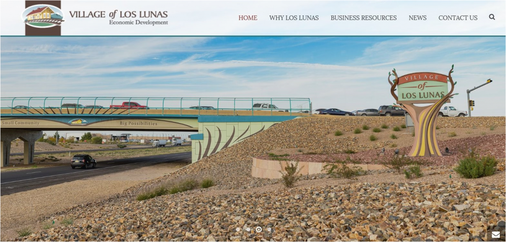 Proudly Displaying the Brandline for Los Lunas