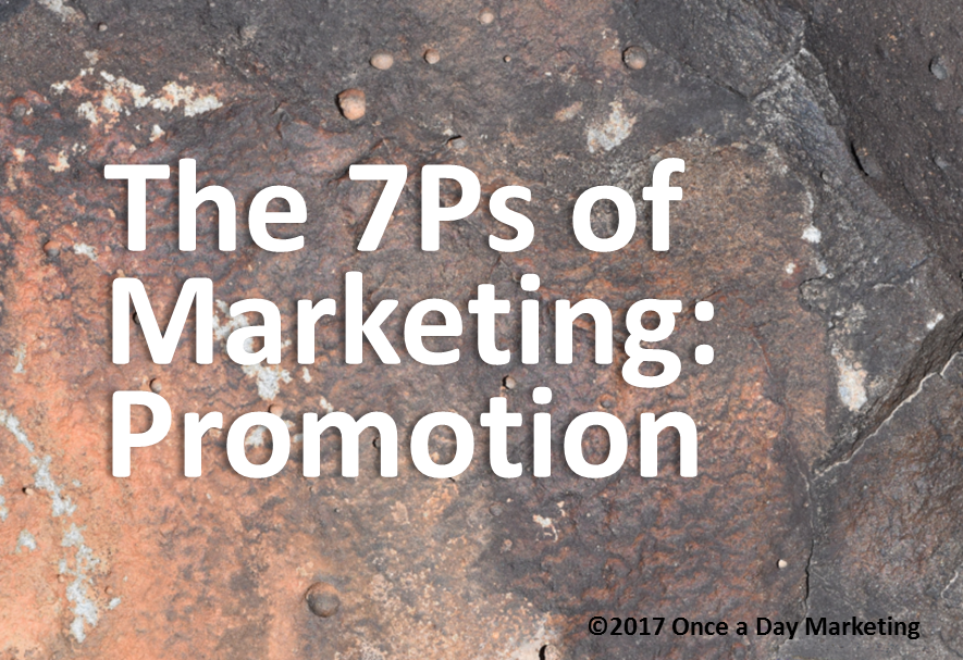 Fundamental of Marketing: Promotion